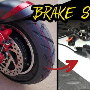 Electric Scooter Brake Upgrade: Mechanical to Hydraulic Brakes