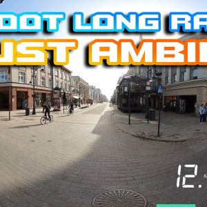 Laotie Ti30 🛴 FULL Long Range 🌆🌄 Just Ambient Sound  for 90 min 🐱🏍Ultra Wide 21:9 🍕 Poland Łódź 🍻