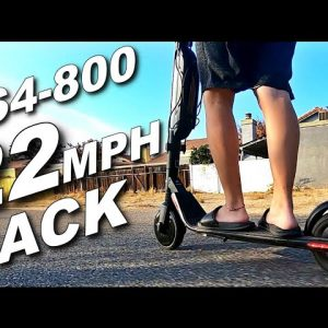 BIRD ES4-800 22MPH SPEED HACK!!!