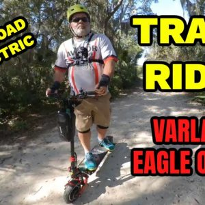 Electric Scooter Trail Ride Varla Eagle One