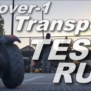 Hover 1 Transport/Comet Test Run
