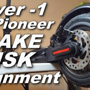 HOW TO ADJUST BRAKE DISK ON HOVER-1 PIONEER