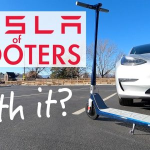 Is the Tesla of scooters WORTH IT? Unagi Model One