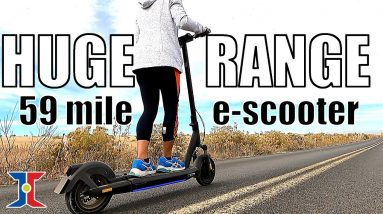 It's HUGE! InMotion L9 Long Range Electric Scooter
