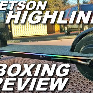 JETSON HIGHLINE LIGHTUP ELECTRIC SCOOTER [UNBOXING/REVIEW]