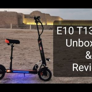 PDR Unbox| Unboxing and Review of E10 2020 Electric Scooter Bahrain