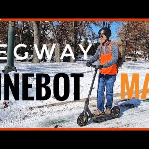 Segway-Ninebot Kickscooter Max: Unbox & Review