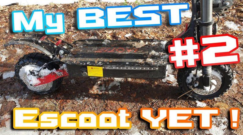 "Laotie Ti30 LandBreaker 🛴 Amazing Escoot ⚡ Part 2 "" so far My Best Escoot in 2021 "" 😁🍕🍻"