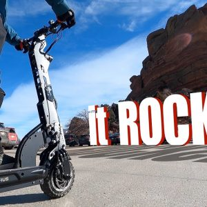 This thing ROCKS! Currus Panther E-scooter review
