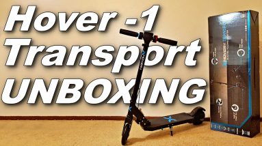 UNBOXING THE HOVER-1 TRANSPORT ELECTRIC SCOOTER