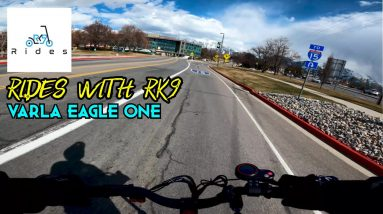 Varla Eagle One High Speed Ride: First Ride of Spring!