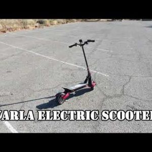 Varla Electric Scooter Demo