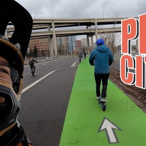 Why this weird city is great for Onewheel, EUC, Escooter...