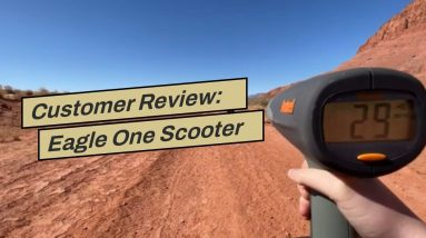 Customer Review: Eagle One Scooter Review - Fastest Electric Scooter 2021!