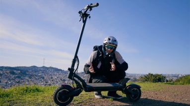 Evolv Pro R Electric Scooter Review | A Scooter For Street Ninjas?!