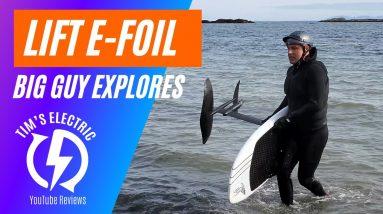 Lift Foils Efoil Surfboard - Q&A with Skip - 4K
