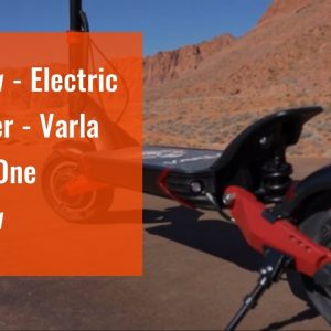 Review - Electric Scooter - Varla Eagle One Review