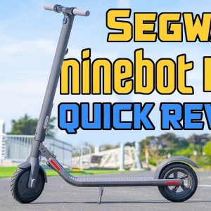 Segway Ninebot E22 Quick Review #shorts