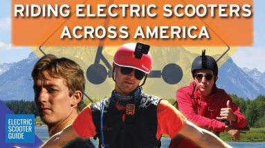 The Scooter Crossing - 4000 Miles, 10 States, 18.6 MPH