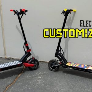 Upgrading and Customizing Your Electric Scooter