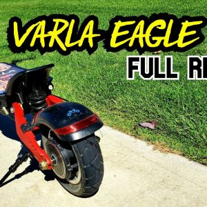 Varla Eagle One Full Review! 40 MPH Super-Scooter