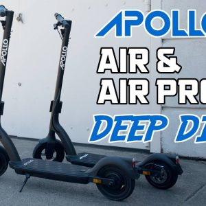 Apollo Air Deep Dive with Live Q&A with Apollo Scooters | Liveshow #86