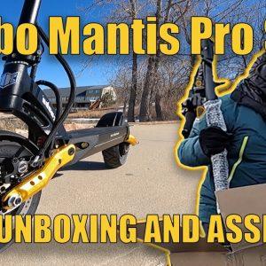 Kaabo Mantis Pro SE (Special Edition) - Unboxing and Assembly plus comparison to original Mantis
