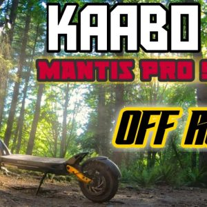 Testing An Off-road Stealth MACHINE. Kaabo Mantis Pro SE. Mini Electric Dirt Bike Off-road Scooter.