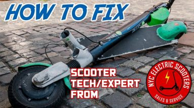 How to Fix an Electric Scooter: Common Failures and Fixes | Liveshow #87