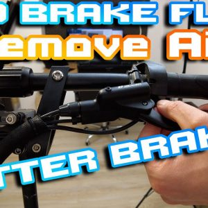 Escoot Hydralic Brake Easy Fix 🛠 How to Remove Air  & Add a brake fluid 🧨🍕⚡🍻 DJI Pocket 2 4K 60fps