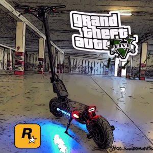 Kaabo Mantis in GTA5 Grand Theft Auto 5 Speed