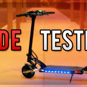 Kaabo Mantis Pro SE Electric Scooter | FPV Ride Footage