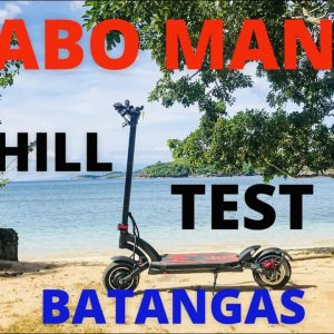 KAABO MANTIS UPHILL TEST AT BATANGAS