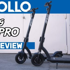 The Apollo Air + Pro Review: A New Scooter That Looks Good and Handles Even Better