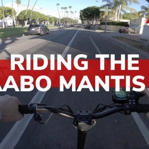 Riding Through the City on an E-scooter | Kaabo USA Mantis 10