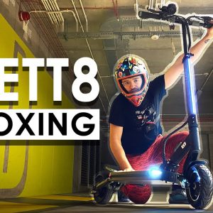 VSETT 8 Electric Scooter Unboxing - Comfy and light 40 km/h city commuter?