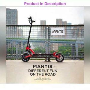 Last Minute Kaabo Mantis 10 Smart Electric Scooter 60v 18.2ah /24.5ah Lg Battery 2000w Dual Motor 1