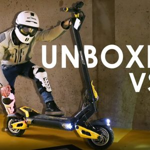 VSETT 10+ ELECTRIC SCOOTER Unboxing - A new GENERATION of eScooters!!!