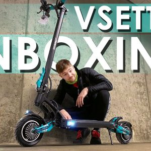 VSett 9+ Electric Scooter Unboxing - 50 km/h Dual Motor Commuter eScooter!