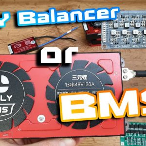 BMS or Balancing Board for battery pack 🔋 BiG BMS vs Tiny Light Board 😎 Short story 🍻🍕