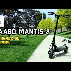 A Dual Motor Mantis for $1000! Kaabo Mantis 8 First Impressions & Unboxing
