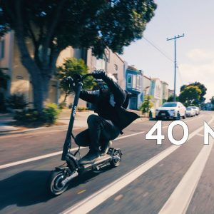 Apollo Phantom Electric Scooter | A Sleek And Powerful Ride