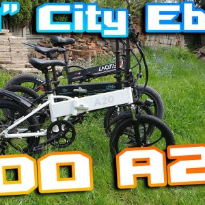 "Ado A20 City Ebike 🚲 Light , 20"" Wheels , Fast 40km/h 🚀 Better than Fiido D4s ?!"