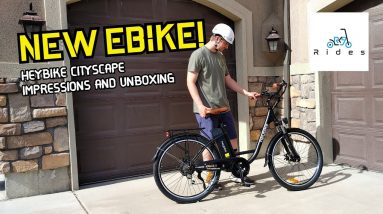 I'm Loving My First Full-Size E-Bike! HeyBike Cityscape Impressions and Unboxing