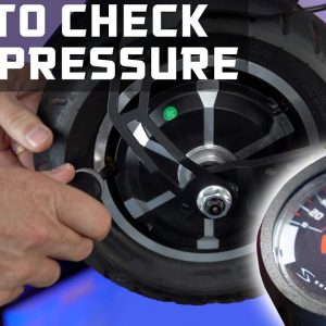 How to Check Tire Pressure on an Electric Scooter | ESG Labs