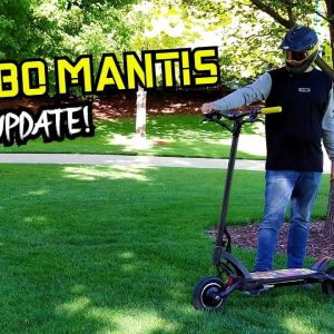 Kaabo Mantis 750 Mile (1200 km) Update! New Upgrades, Repairs, and More