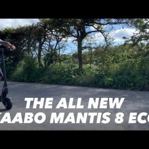 Kaabo Mantis 8 Eco unboxing and ride