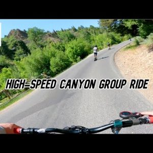 Tearing Up the Canyon! Electric Scooter Group Ride w/ Varla Eagle One, Kaabo Wolf Warrior, Others