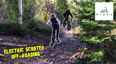 Pushing My Electric Scooter to Its Off-Road Limits! (Feat. Mountain Biking Dad)