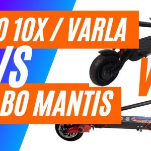 Zero 10X Electric Scooter vs Kaboo Mantis